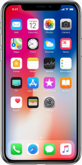 Picture of the iPhone X, by Apple