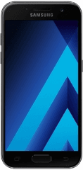 Picture of the Galaxy A3 2017, by Samsung