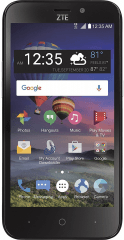 Picture of the ZFive 2 LTE, by ZTE